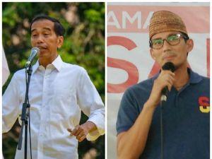 Pidato Berapi-api Jokowi Disahut Sandiaga