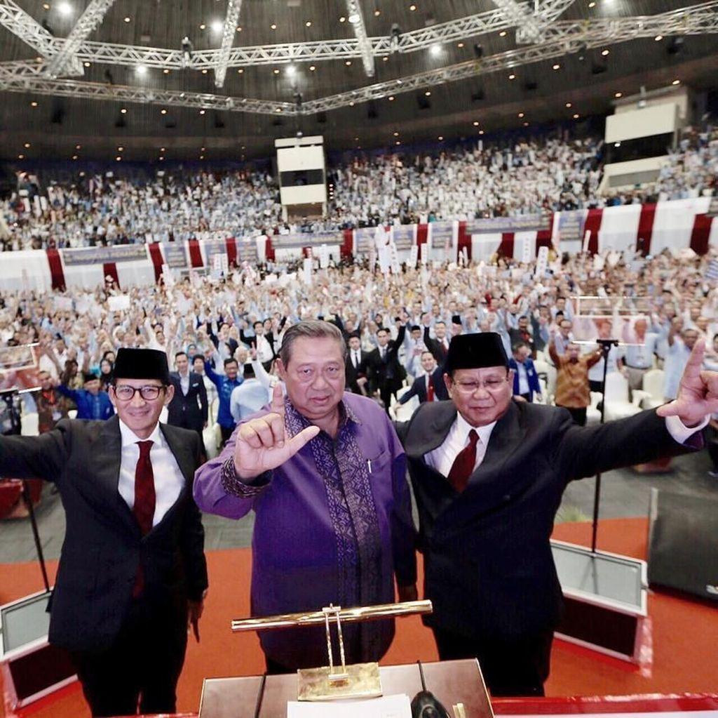 BPN soal Kehadiran SBY di Debat Capres 2019: Diwakili AHY