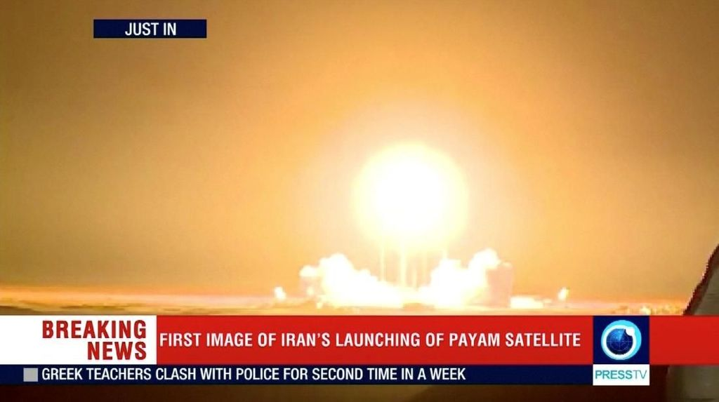 Iran Gagal Luncurkan Satelit ke Orbit