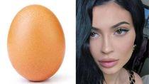 Likes Terbanyak Kylie Jenner Dikalahkan Sebutir Telur
