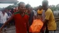Pelajar di Lamongan Tertabrak KRD di Perlintasan Tanpa Palang Pintu