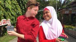 Kisah Cinta TKW di Arab yang Bertemu Jodoh Bulenya Lewat Game Online