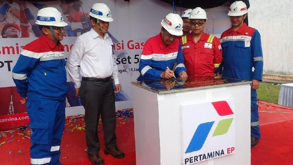 Pertamina Salurkan Gas ke PLTGU Tanjung Batu