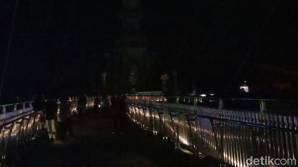 Jembatan Ikon Jambi Gelap? Pemprov: Dimatikan di Jam Tertentu
