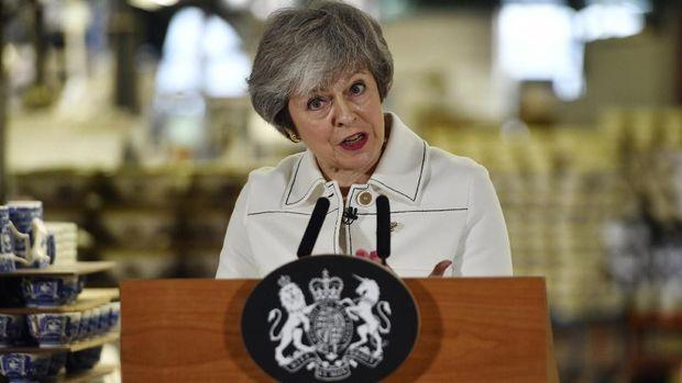 Sudah Injury Time, PM Inggris Akan Minta UE Tunda Brexit