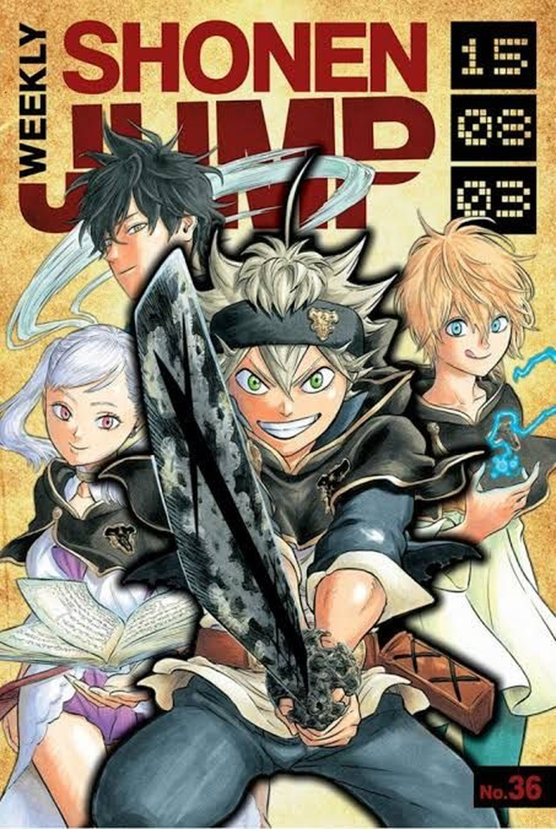 Hits di Jepang, Manga Black Clover akan Terbit di Indonesia