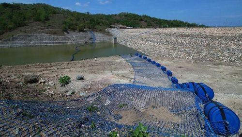 Bendungan Rotiklot di Perbatasan RI-Timor Leste Rampung