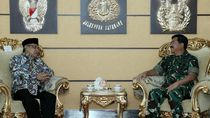 Minta Bantuan Pengamanan untuk Munas, Said Aqil Temui Panglima TNI