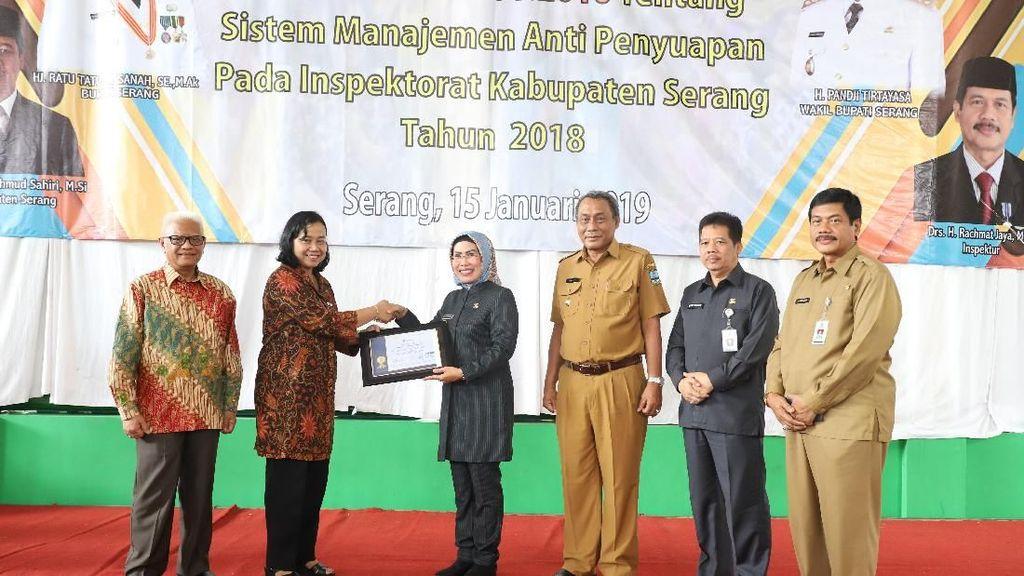 Inspektorat Pemkab Serang Raih ISO Manajemen Mutu & Manajemen Anti Suap