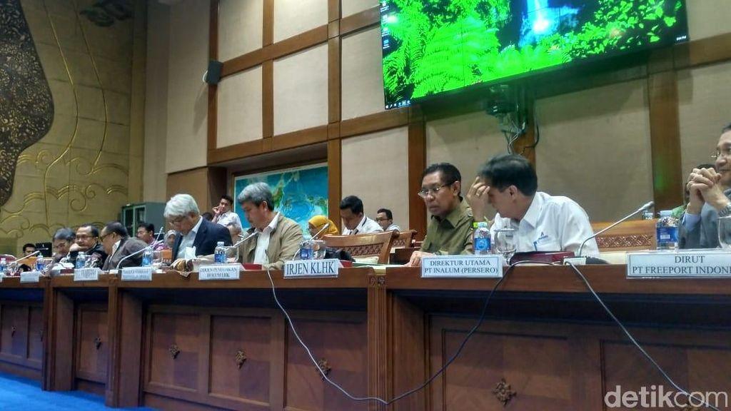 Lagi Panas, Pembahasan Freeport di DPR Malah Digantung