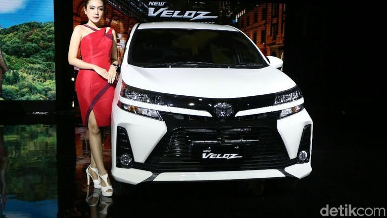 Toyota Veloz 2019 Foto: Agung Pambudhy