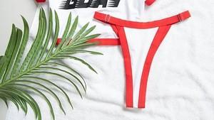 Artis Tampil Seksi dengan Tren V-String Bikini, Bagaimana Jika Wanita Biasa?