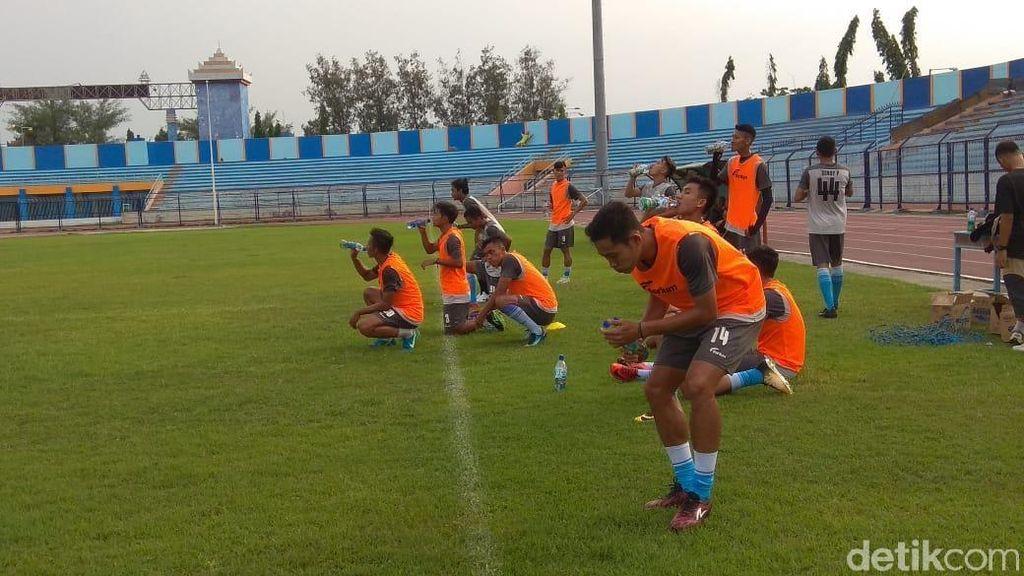 Skuat Persela Belum Komplit di Latihan Perdana, Masih Ada Seleksi