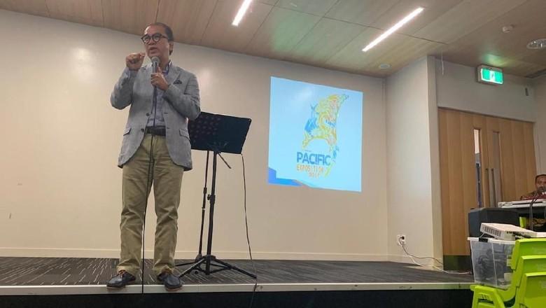 Kala Dubes Tantowi Berakhir Pekan bersama Warganya di Auckland