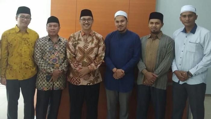 Ikatan Dai Aceh bertemu MUI (Lisye Sri Rahayu/detikcom)