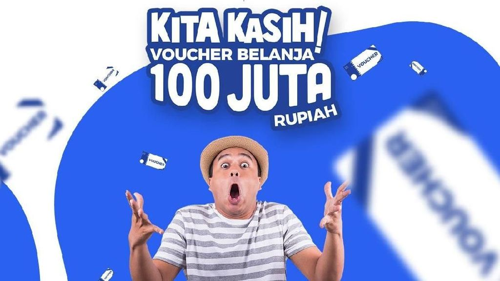 85 Orang Pemenang Ini Mendapatkan Voucher Belanja 100 Juta Rupiah!