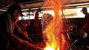 Mengintip Pembuatan Gong di Pabrik Tertua di Kota Bogor