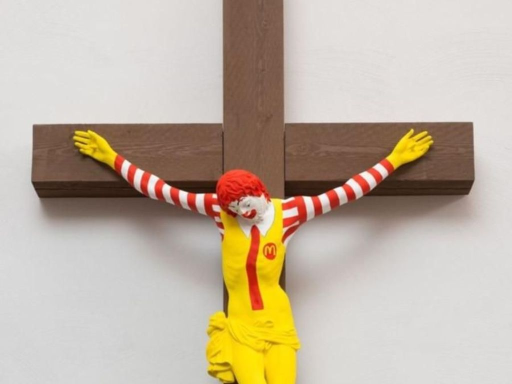 Melihat Lebih Dekat McJesus yang Diprotes Umat Kristen