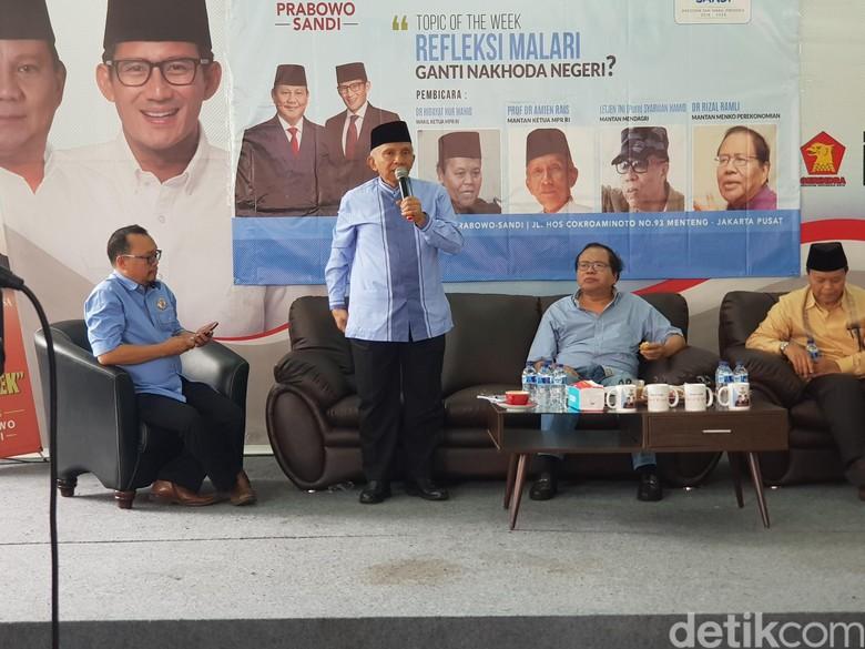 Amien Rais: Ada 3 Ciri Otoriterisme dari Jokowi, Basmi Oposisi-Kuasai Media-Korupsi