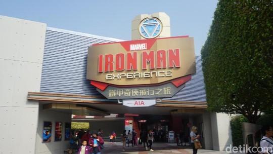 Lihat Isi Wahana Iron Man Experience di Hong Kong yuk!