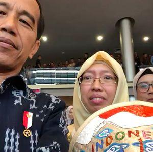 Nge-Vlog di Program Wirausaha ASN, Jokowi Apresiasi UMKM Binaan BRI