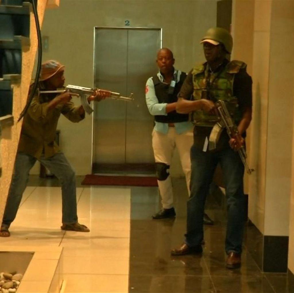 Polisi Kenya Diterjunkan ke Lokasi Serangan Teror