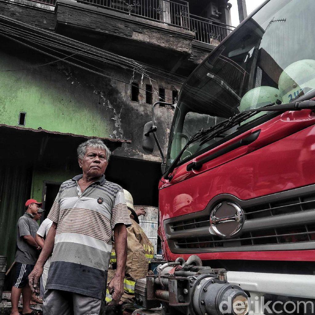 Kebakaran di Cilincing Berhasil Dipadamkan