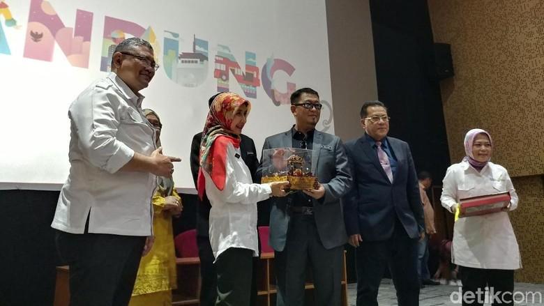 Perwakilan Negara Bagian Melaka, Malaysia datang ke Kota Bandung (Tri Ispranoto/detikTravel)