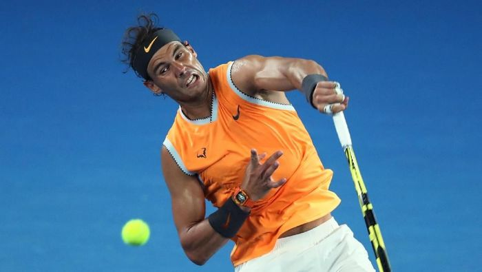 Rafael Nadal lolos ke babak ketiga Australia Terbuka 2019 (Foto: Lucy Nicholson/Reuters)