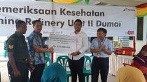 Atasi Banjir, Pertamina Normalisasi Parit di Tanjung Palas Dumai Timur