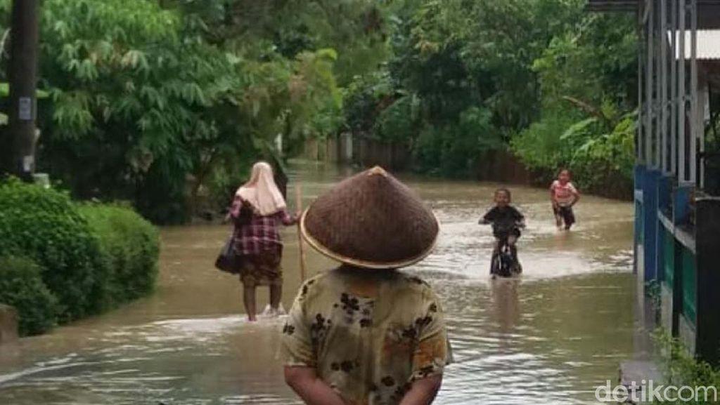 Banjir di Kebumen Utara dan Timur Telah Surut