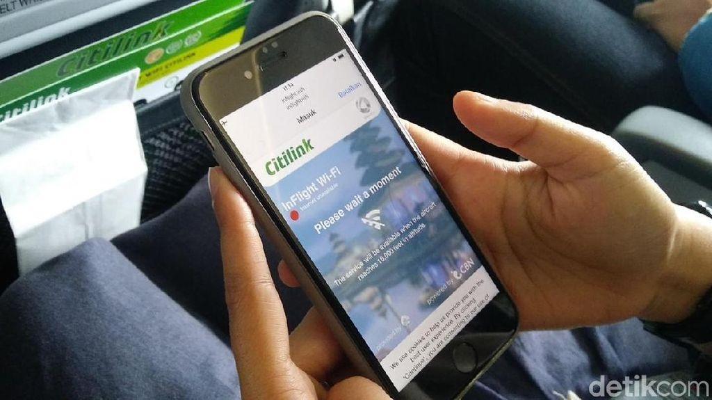 Seberapa Cepat Wifi On Board di Pesawat Citilink?