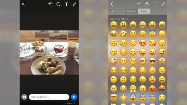 Cara Private Reply Whatsapp Dan Tempel Stiker Di Foto