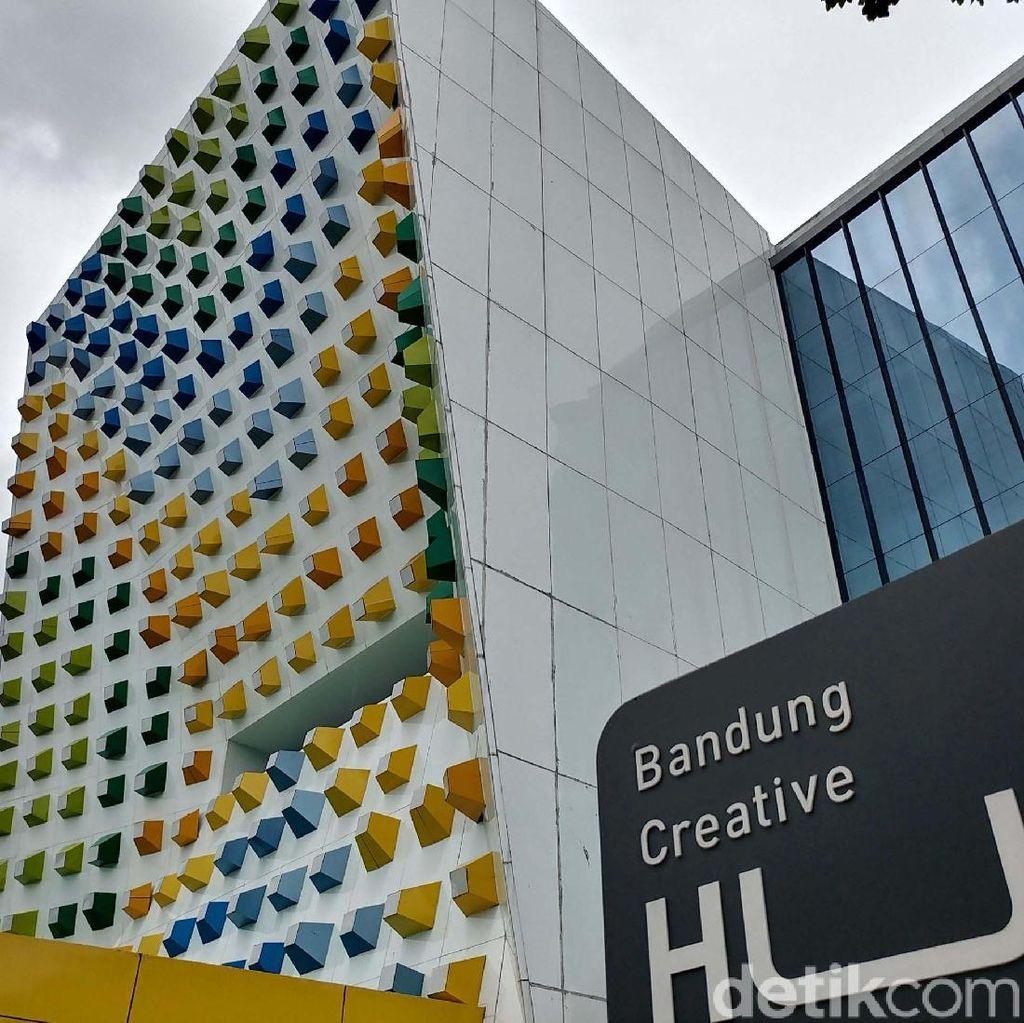 Ruang Kreatif Bandung Kini Sepi Bak Gedung Hantu di Pusat Kota