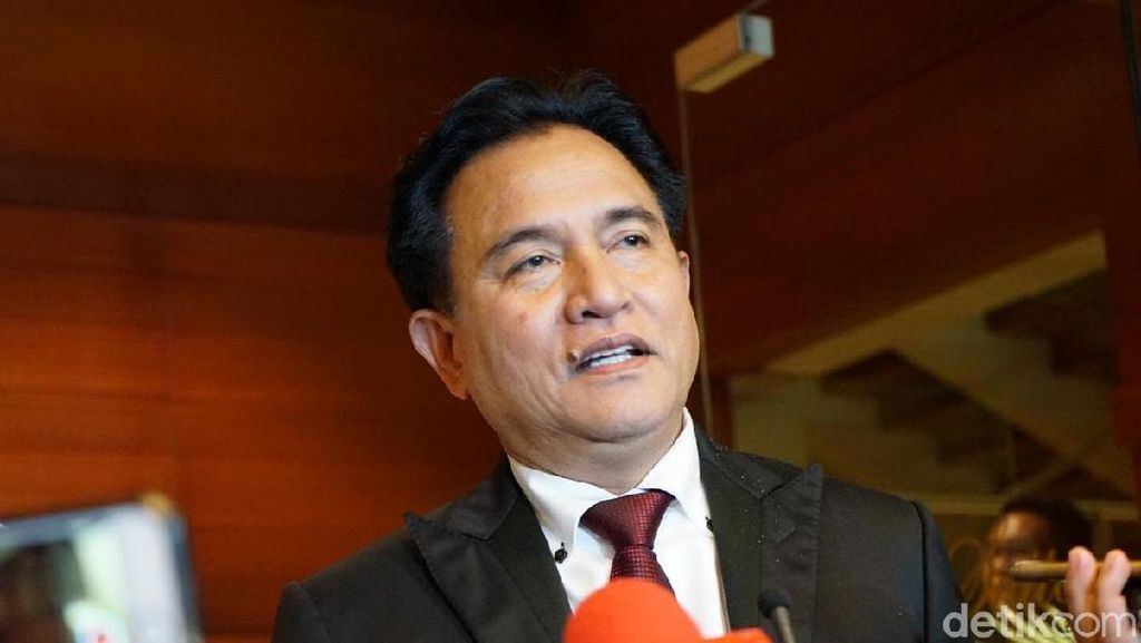 Prabowo Ajukan Link Berita ke MK, Yusril: Harus Dikuatkan Bukti Lain