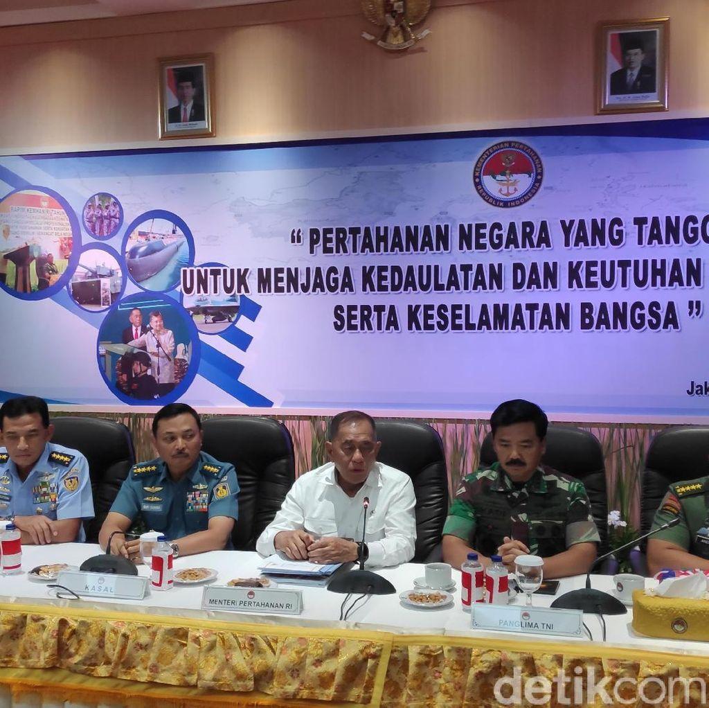 Menhan soal Pilpres: Saya Pembantunya, Jelas Saya Pilih Pak Jokowi