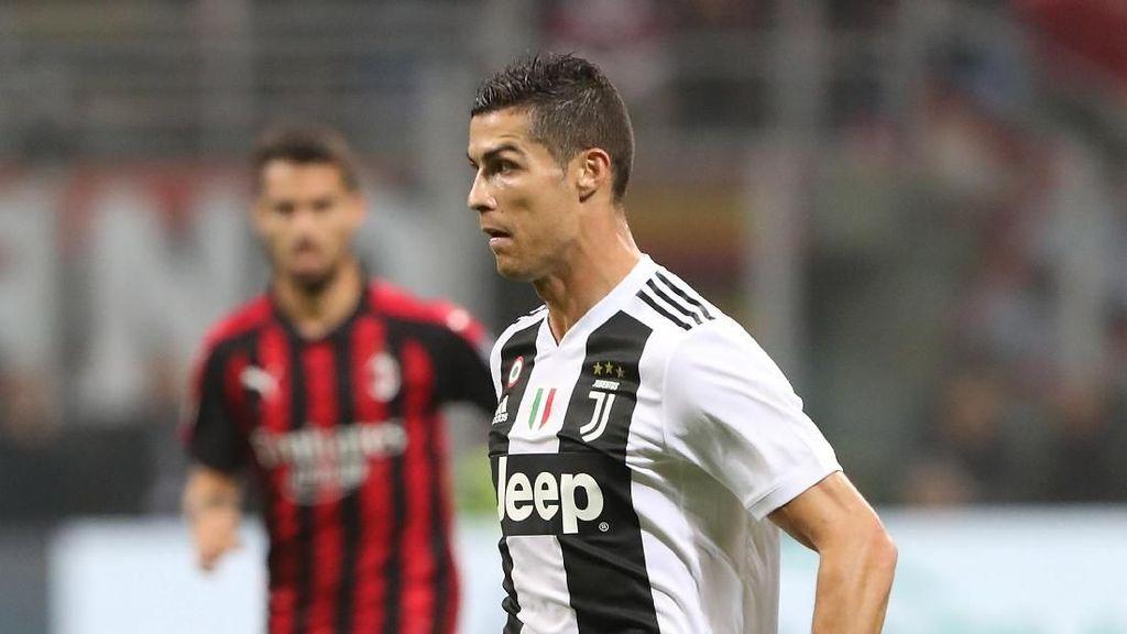 Piala Super Italia Jadi Trofi Pertama Ronaldo untuk Juventus?