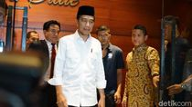 4 Menteri Dampingi Jokowi di Debat Perdana Capres