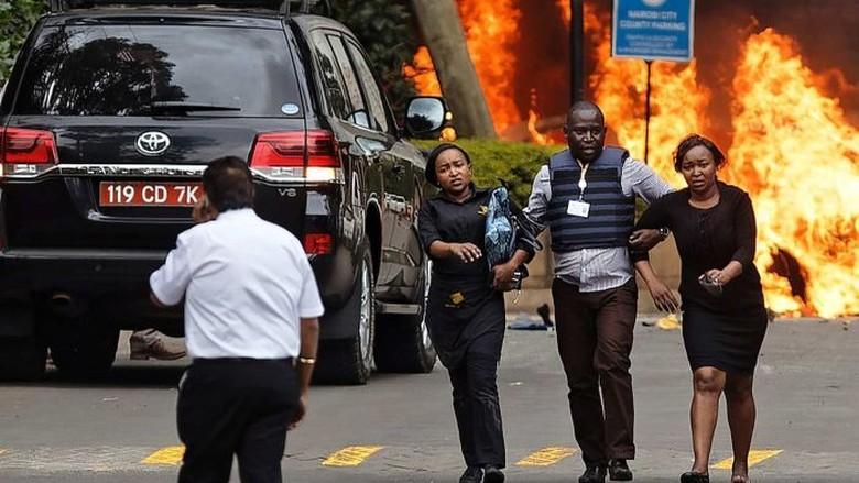Serangan Teror di Kompleks Perhotelan Kenya Tewaskan 15 Orang