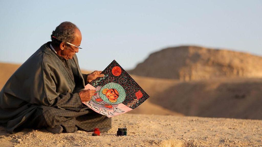 Keren! Karya Pelukis Mesir Ini Mampu Bertahan Ribuan Tahun