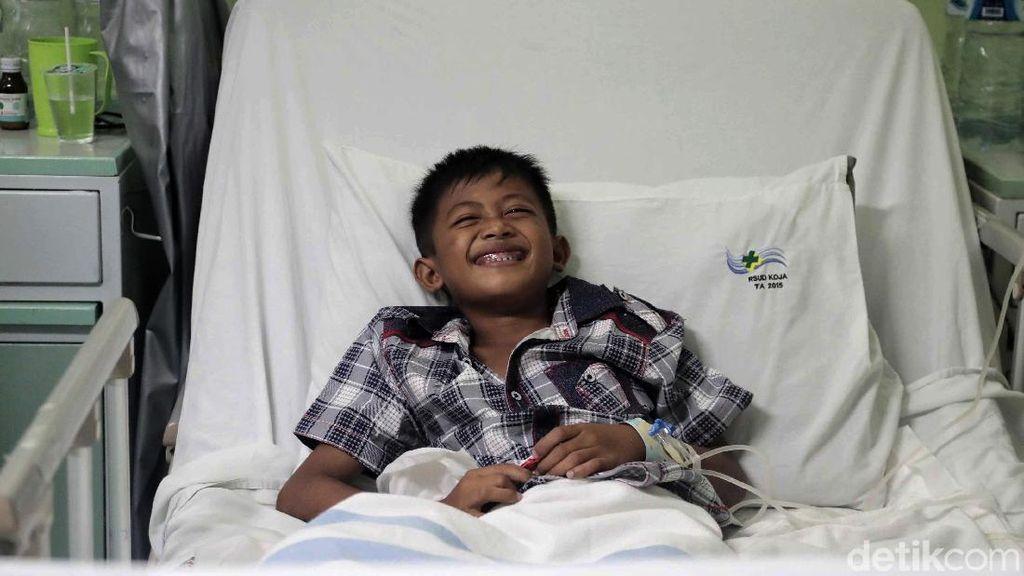 Kondisi Terkini Bocah Korban Limbah B3 di Bekasi