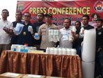 Polisi Sita 112.000 Butir Obat Golongan IV di Apartemen Kembangan
