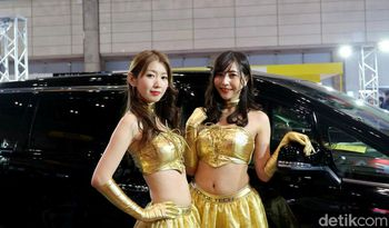 Yang Seksi di Tokyo Auto Salon 2019
