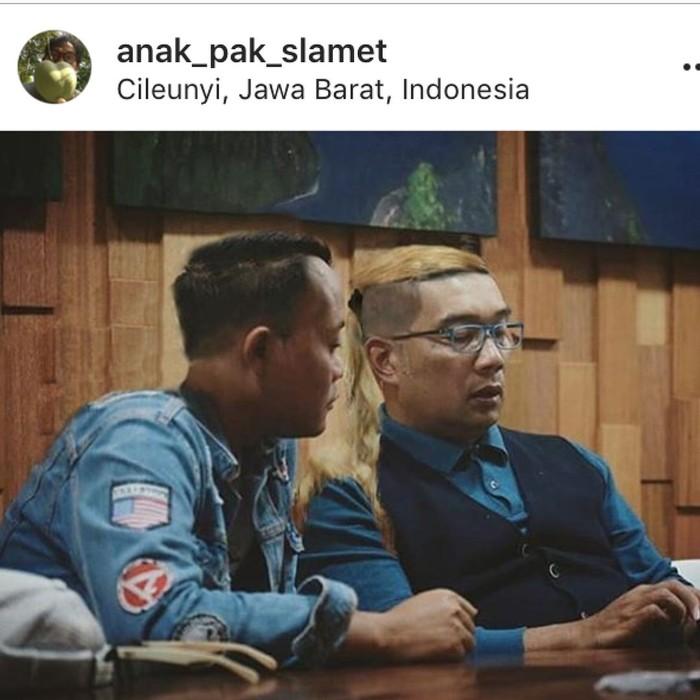 Ridwan Kamil dan Sule. Foto: Dok. Instagram Ridwan Kamil