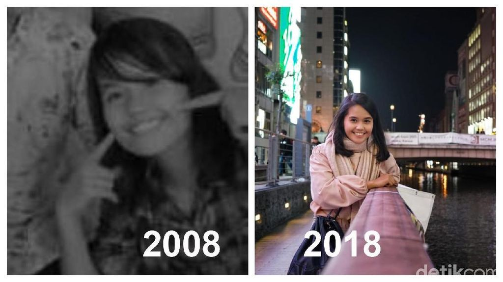 10 Years Challenge Versi Para Survivor Kanker yang Penuh Perjuangan