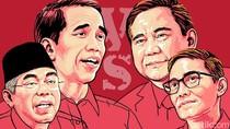 Real Count KPU 26%: Jokowi-Amin 55,39% Prabowo-Sandi 44,61%