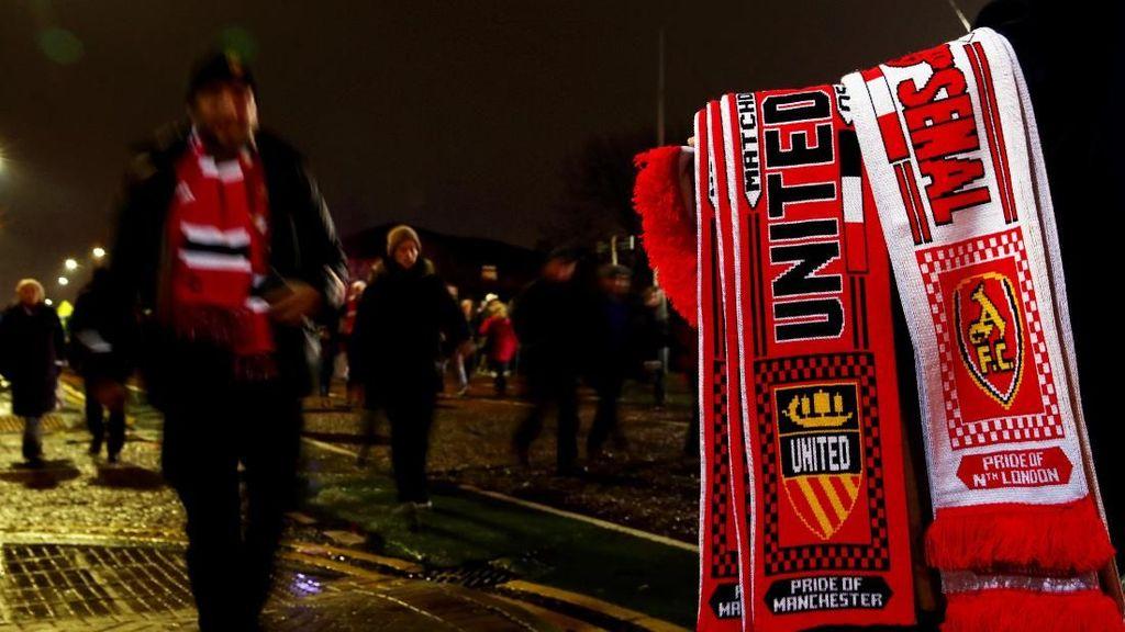 Jatah Tiket Piala FA Dipangkas, Fans MU Protes ke Arsenal