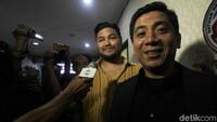 Ivan Gunawan diperiksa di Polres Jakarta Barat, Kamis (17/1). Foto: Lamhot Aritonang/detikFoto