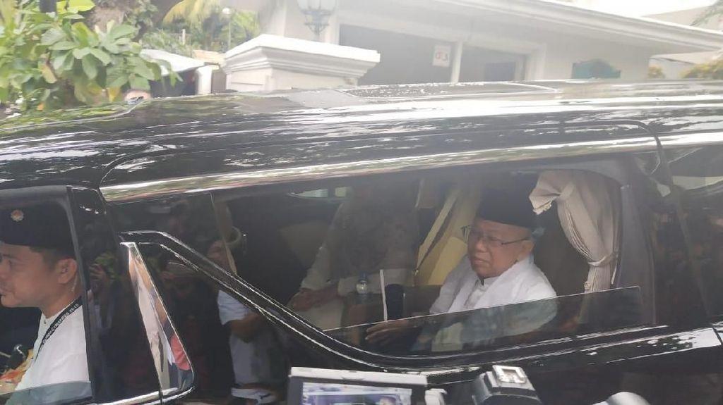 Wapres Maruf Amin Cuma Punya 2 Mobil, Harganya Rp 1,6 Miliar
