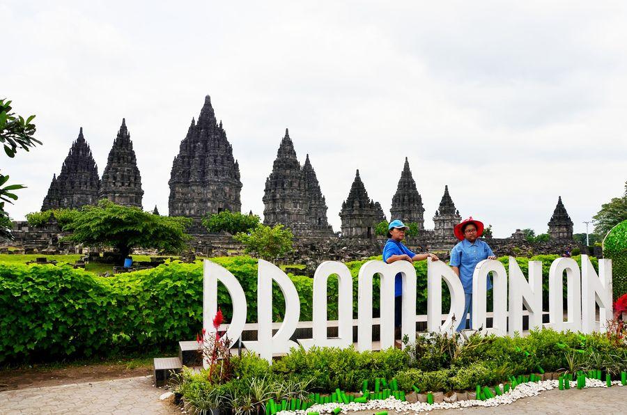 Candi ini yang termasuk dalam situs warisan dunia United Nations Educational, Scientific and Cultural Organization (UNESCO) dan merupakan candi Hindu terbesar di Indonesia sekaligus salah satu candi terindah di Asia Tenggara. (Satria Nandha/detikTravel)